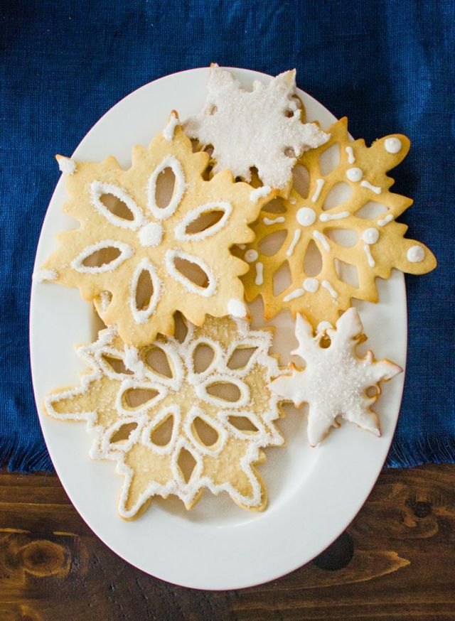 cookie snowflake