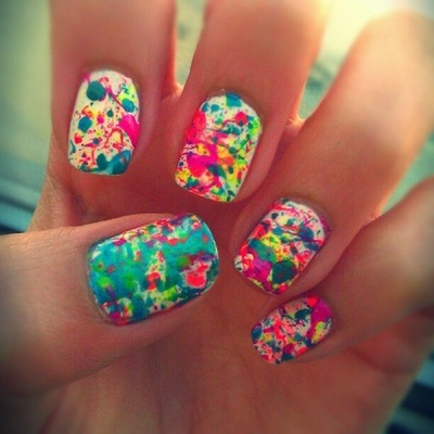 floral-acrylic-colorful-abstract-glitter-cartoons-pink-cute-colorful-abstract-nail-art-42-collections-cute-nail-designs-from-tumblr